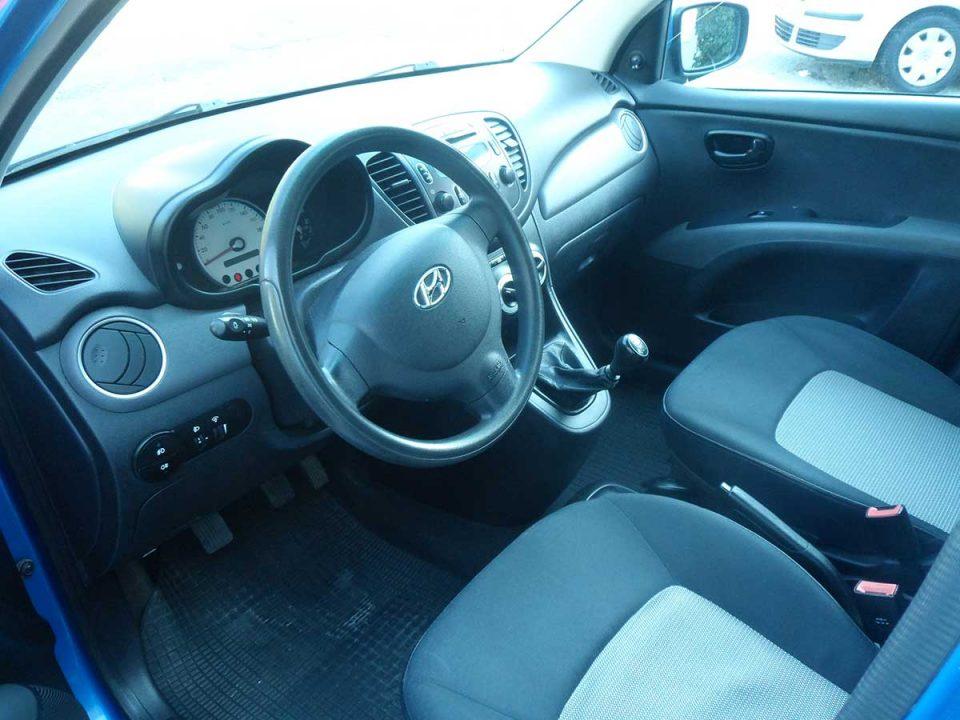 Hyundai i10 , First car rental Corfu Ermones