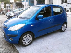 Hyundai i10 , First car rental Corfu Ermones