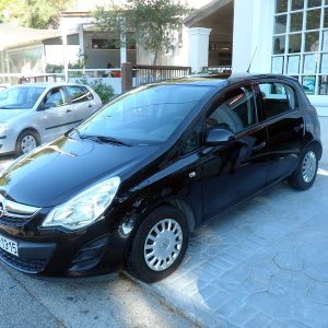 Opel Corsa 1.4 , First car rental Corfu Ermones