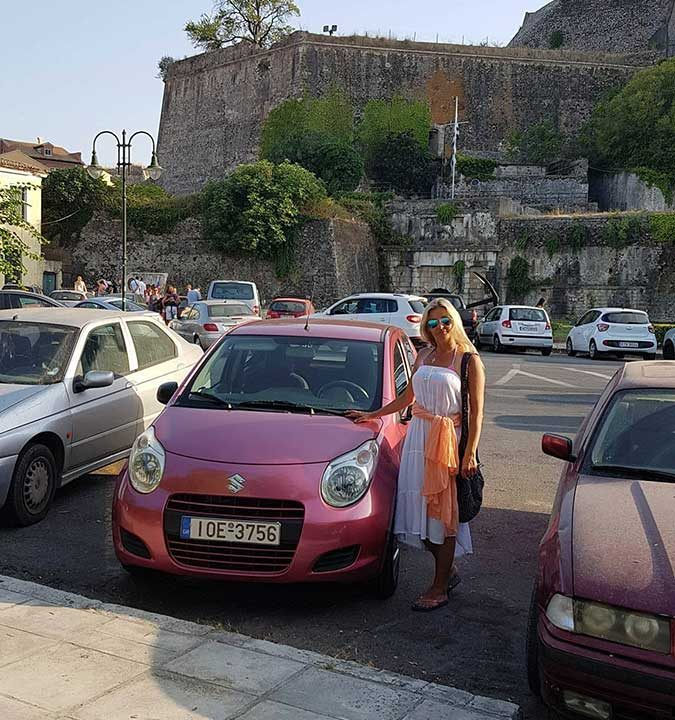Our customers , First car rental Corfu Ermones