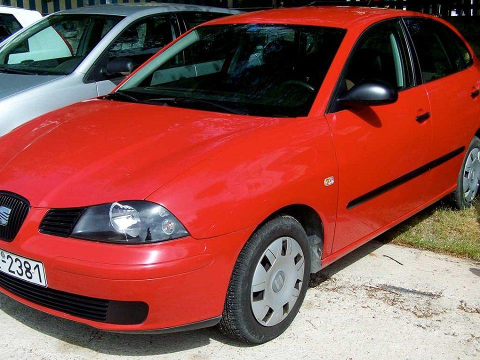 Seat Ibiza , First car rental Corfu Ermones