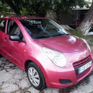 Suzuki Alto, First car rental Corfu Ermones