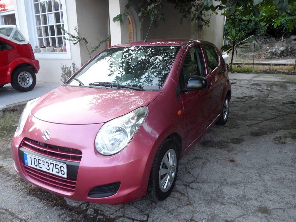 Suzuki Alto, First car rental Corfu Ermones