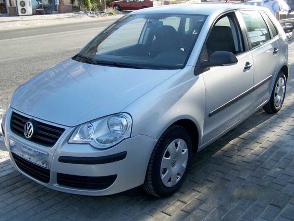 VW Polo , First car rental Corfu Ermones
