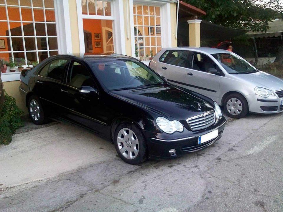 Ermones office, first car rental Corfu Ermones