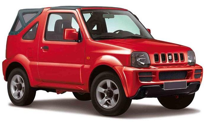 Suzuki Jimny - Open top 4X4